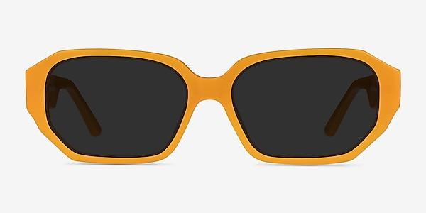 Claudel Orange Acetate Sunglass Frames