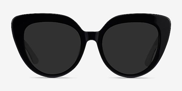 Santa Monica Black Acetate Sunglass Frames
