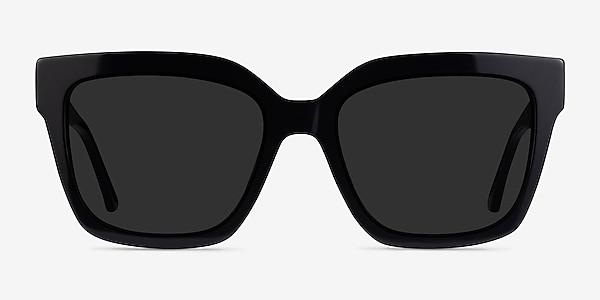 Itinerary Black Acetate Sunglass Frames
