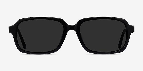 Opacity Black Acetate Sunglass Frames