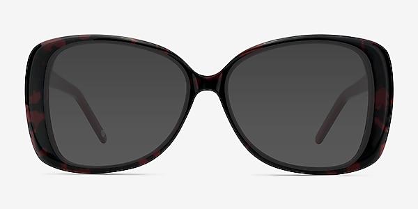 Marilyn Black Red Acetate Sunglass Frames