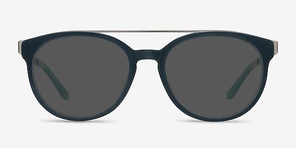 Morning Breeze Navy silver Acetate-metal Sunglass Frames