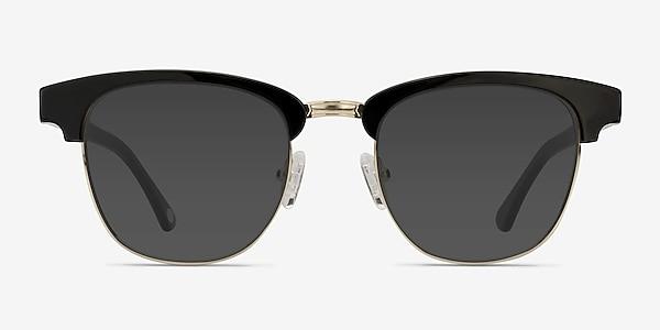 Somebody New Black Acetate-metal Sunglass Frames