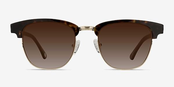 Somebody New Tortoise Acetate-metal Sunglass Frames