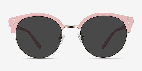Samba Pink Plastic-metal Sunglass Frames
