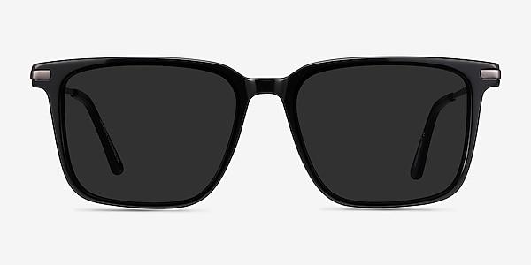 Griffith Black Acetate-metal Sunglass Frames
