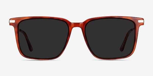 Griffith Light Tortoise Acetate-metal Sunglass Frames