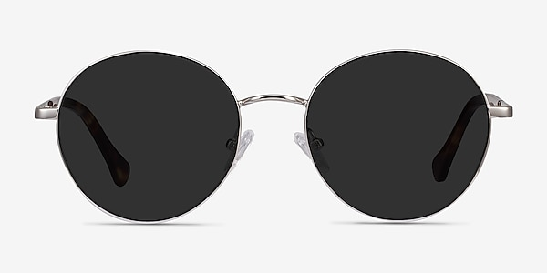 Grasp Silver Acetate-metal Sunglass Frames
