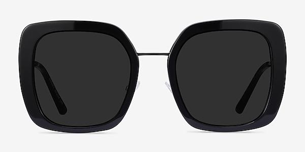 Canopy Black Acetate-metal Sunglass Frames