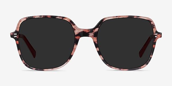Olga Leopard & Gold Acetate-metal Sunglass Frames