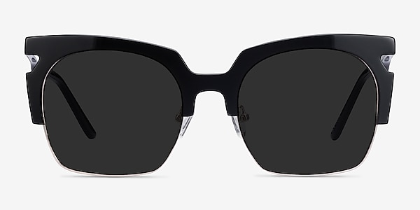 Ilsa Black Acetate-metal Sunglass Frames