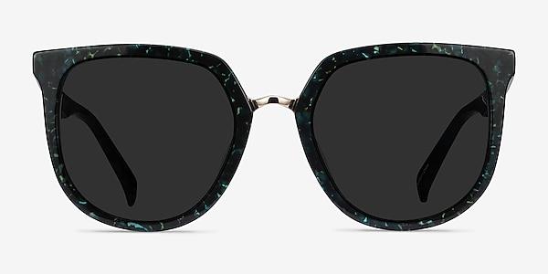 Shannon Green Floral Acetate Sunglass Frames