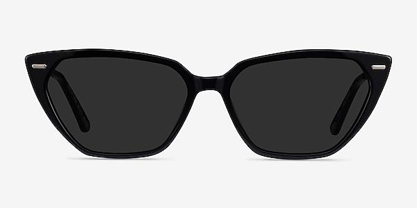 Santa Cruz Black Acetate Sunglass Frames