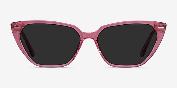 Santa Cruz Clear Pink Acetate Sunglass Frames