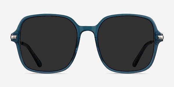 Salvador Teal Metal Sunglass Frames