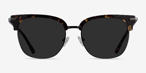 Monte Carlo Tortoise Gunmetal Acetate Sunglass Frames