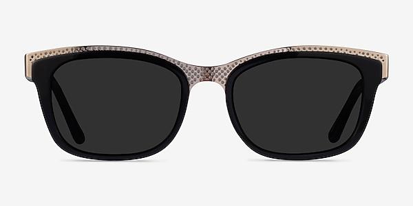 Solis Black Gold Acetate Sunglass Frames