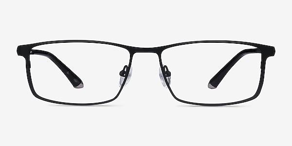 Driven Black Titanium Eyeglass Frames