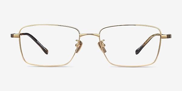Canto Golden Titanium Eyeglass Frames