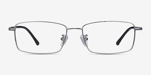 Holmst Gunmetal Titanium Eyeglass Frames
