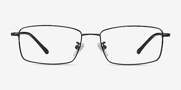 Holmst Black Titanium Eyeglass Frames