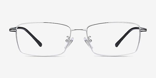 Holmst Silver Titanium Eyeglass Frames