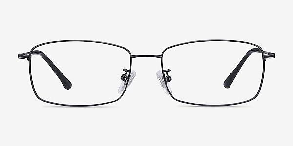 Hobbes Black Titanium Eyeglass Frames