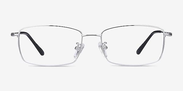 Hobbes Silver Titanium Eyeglass Frames