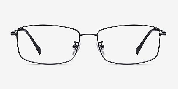 Embark Black Titanium Eyeglass Frames