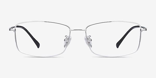 Embark Silver Titanium Eyeglass Frames