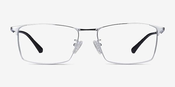 Decider Argenté Titane Montures de lunettes de vue