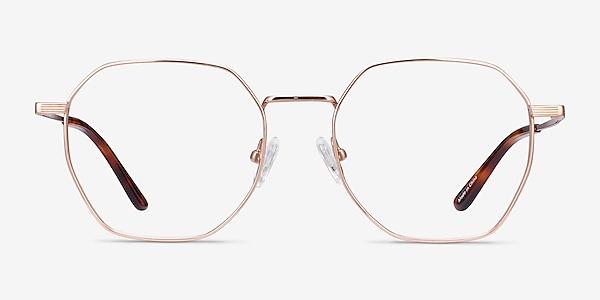Comet Rose Gold Titane Montures de lunettes de vue