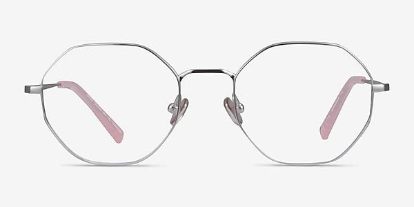 Cecily Argenté Titane Montures de lunettes de vue