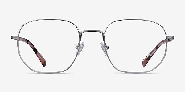 Dante Gunmetal Titanium Eyeglass Frames