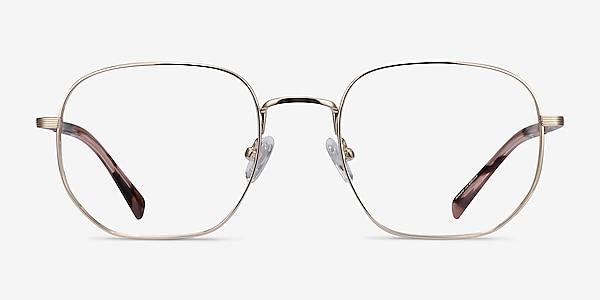 Dante Gold Titanium Eyeglass Frames