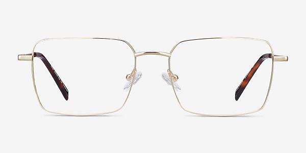 Apex Gold Titanium Eyeglass Frames