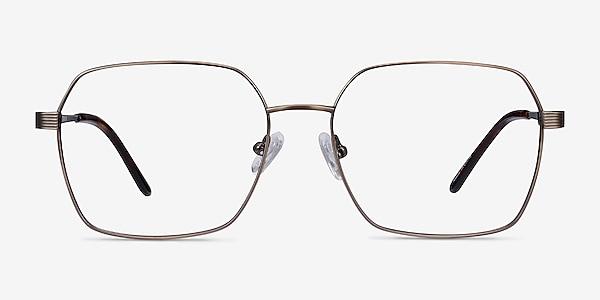 East Bronze Titanium Eyeglass Frames