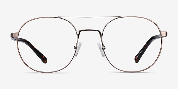 Gordon Bronze Acetate Eyeglass Frames
