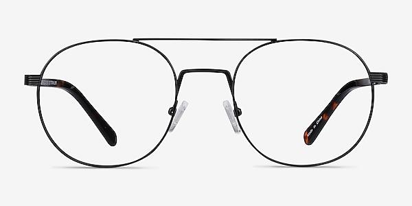 Gordon Black Acetate Eyeglass Frames