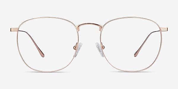 Arbor Rose Gold Titanium Eyeglass Frames