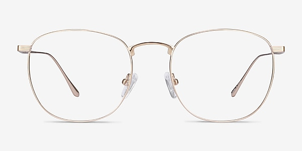 Arbor Gold Titanium Eyeglass Frames
