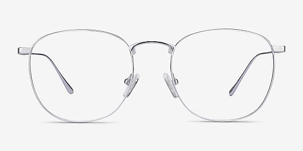 Arbor Silver Titanium Eyeglass Frames
