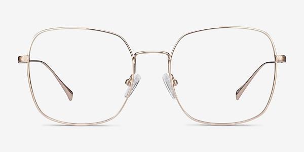 Meteor Gold Titanium Eyeglass Frames