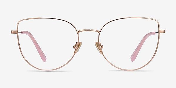 Imani Rose Gold Titane Montures de lunettes de vue