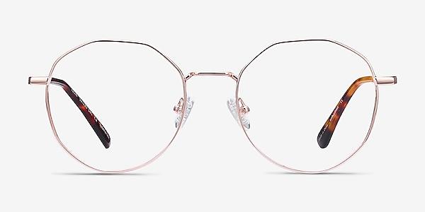 Julia Rose Gold Titane Montures de lunettes de vue