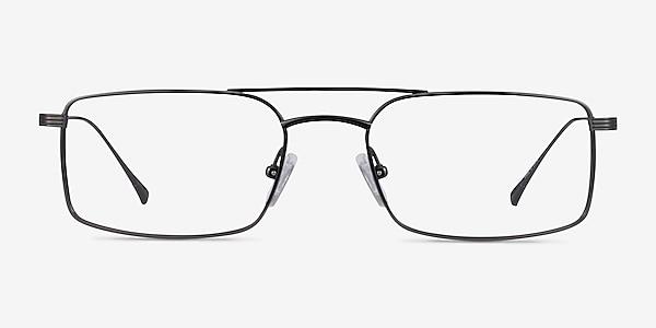 Johnson Dark Gunmetal Titane Montures de lunettes de vue