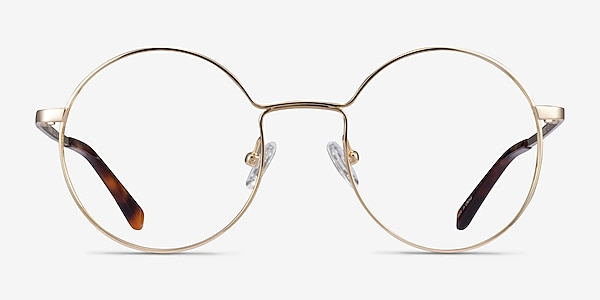 Midtown Doré Titane Montures de lunettes de vue