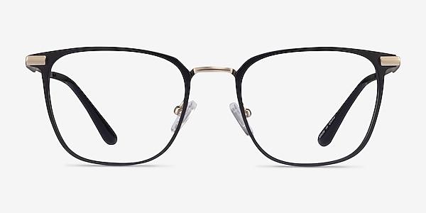 Pond Matte Balck Titanium Eyeglass Frames