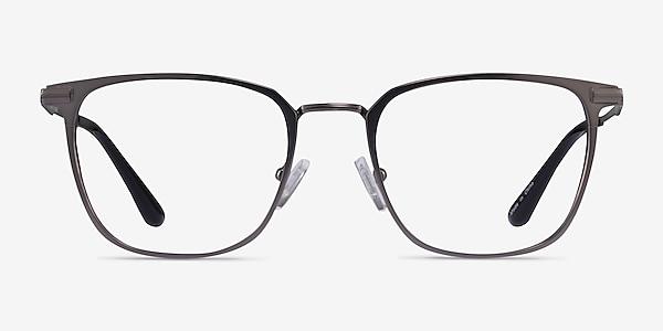 Pond Matte Gunmetal Titanium Eyeglass Frames