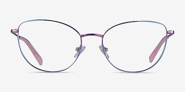 Mandolin Rainbow Titanium Eyeglass Frames